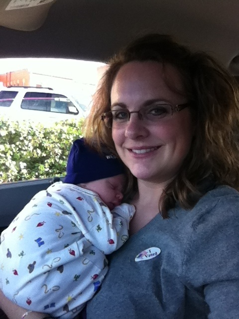 We even voted!