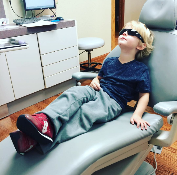 Banks at the dentist's office
